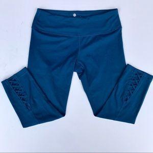 Yogalicious Blue Capri Yoga Pants